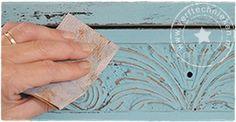 verftechnieken - hoe breng je krijtverf aan?