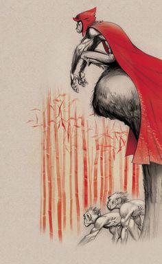 'MONKEY: Journey to the west' por Jamie Hewlett.
