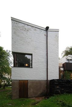 The Alvar Aalto Studio and Home by architect Alvar Aalto was built in Helsinki, Finland in Alvar Aalto, Helsinki, Master Plan, How To Plan, City, Building, Outdoor Decor, Projects, House
