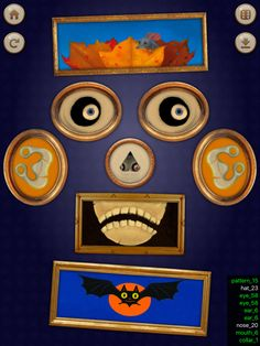 One of many spooky Art Face combinations. David Kirk, Face Art, Pattern, Pictures, Painting, Photos, Patterns, Painting Art, Paintings
