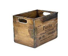 CAJAS Y CAJONES: Cajón de madera DM Purity