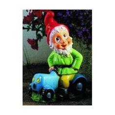 Zwerg auf Traktor, Trecker, 32 cm, Gartenzwerg, Kunststoff: Amazon.de: Garten, Gartenzwerg, Zwerg, Gnom, Gartenfigur, Gartendeko, Märchen, Sieben Zwerge, dwarf, garden gnome, Dekoration,