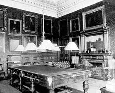 Clumber House, billiards room