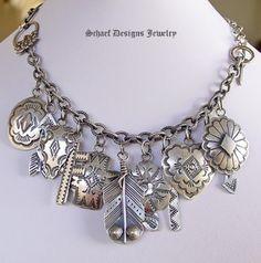 rocki gorman jewelry | Rocki Gorman Charm Bracelet / Necklace | Western jewelry