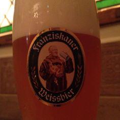 フランチスカナー。世界で一番好きなビール。