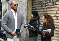 Light shades! Milan Vukmirovic | Tommy Ton's Street Style: Milan Fall 2013: Style: GQ