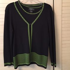 Finity sweater set Finity sweater set with rhinestones Finity Sweaters