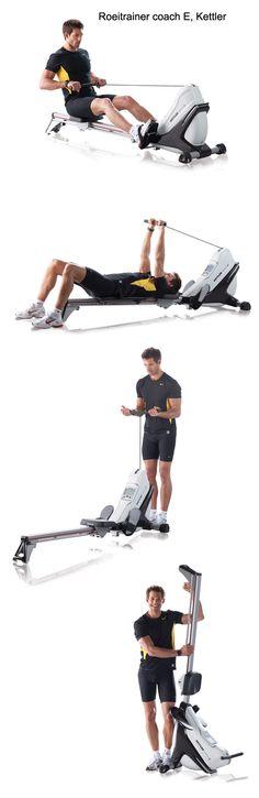 Roeitrainer, een veelzijdig fitnessapparaat. De Coach E van Kettler is een mooie investering voor de veeleisende sporter. Met vele programma´s, instelbare trainingsniveau´s, cardio-opties geeft de roeimachine jarenlang plezier.