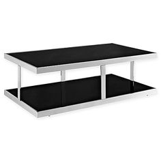 Furnish your living room or reception area in style with the Modway Absorb Coffee Table. The table features an ultra-modern dual-layer design with open space between the two planes. This minimalistic table is just as fashionable as it is durable.