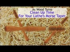 Clean Up Time For Your Lathe's Morse Taper - YouTube