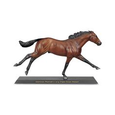 Breyer American Pharoah Model ($55) ❤ liked on Polyvore featuring home, home decor i american home decor