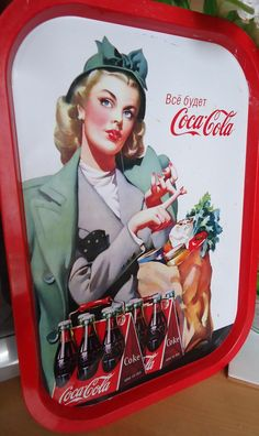 Vintage tray Have a Coke