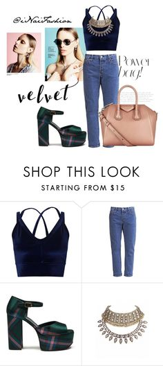"""Untitled #575"" by inaifashion ❤ liked on Polyvore featuring Miss Selfridge, Mulberry and Givenchy"