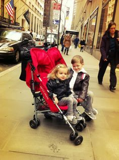 Maclaren twin stroller