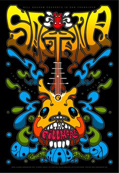Santana at the Fillmore SF.