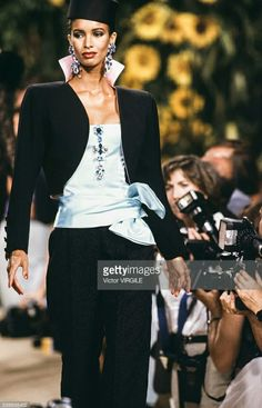 Haute couture hiver 1990/91. Getty Images
