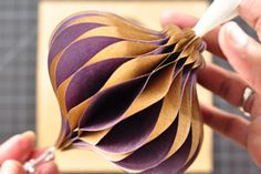 Paper Honeycomb Ornament