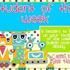 Robot Theme - Student of the Week - Bulletin Board Display Robot Classroom, 4th Grade Classroom, Classroom Themes, Classroom Activities, Bulletin Board Display, Bulletin Boards, Student Of The Week, Building Classroom Community, Robot Theme