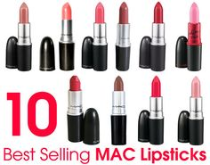 Best Selling MAC Lipsticks – Our Top 10