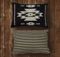 Modern Navajo Pillow from Little Boston Print Shoppe...LOVE this!