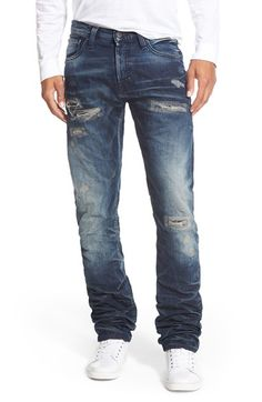 PRPS 'Demon' Straight Leg Jeans (Climbing Aster) available at #Nordstrom