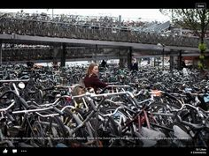 Amsterdam and their bike problem