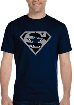 I bought this for my uncle for Christmas! I bought from SuperTeesandHats on Etsy #dallascowboys #superman