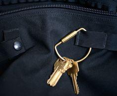 Solid Brass Key Ring - Kaufmann Mercantile