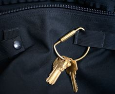 Solid Brass Key Ring