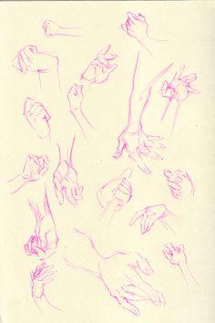 Warm-up doodles.