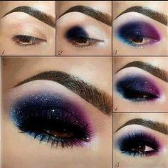 Galaxy make up