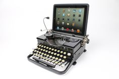 USB Typewriter Computer Keyboard -- Royal Portable from 1933 -- Great Gatsby Style. $799.00, via Etsy.