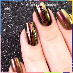 Improve your mood with these chrome nails?✨ Improve your mood with these chrome nails? Cute Acrylic Nails, Gel Nail Art, Nail Art Diy, Diy Nails, Nail Polish, Nail Art Designs Videos, Nail Art Videos, Chrome Nails Designs, Gel Chrome Nails
