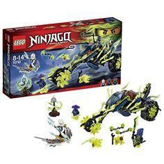 LEGO Ninjago 70730 Chain Cycle Ambush - Masters of Spinjitzu 2015 Ninjago Lego Sets, Funny Animal Jokes, Cool Lego Creations, Buy Lego, Trending Videos, Legos, Easy Crafts, Projects To Try, Toys