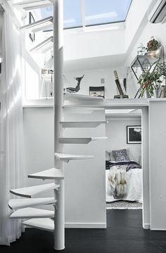 pequeño y acogedor loft | decoración