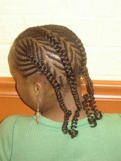 Tout sur les extensions de cheveux et les tresses africaines tresses pour enfants coiffure - Tresse pour enfant ...