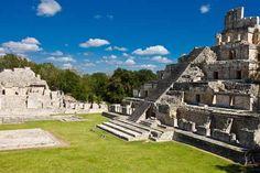 Zona Arqueológica Edzna, Campeche, Mexico