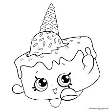 Ice Cream Coloring For Free Shopkins Season 5 Pages Printable And Book To Print Find More Online Kids