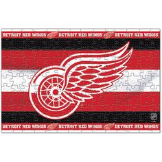 Detroit Red Wings WinCraft 150 Piece Puzzle