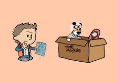 BTTF: Calvin & Hobbes
