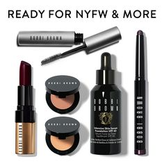 Face #FashionWeek (or the work week) like a seasoned pro with Bobbi's backstage survival kit.
