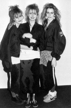 Bananarama. Silk skirts, bomber jackets, trainers. Look familiar?