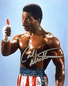 APOLLO CREED-is one of my favorite movie characters-played by Carl Weathers. ROCKY BALBOA may have been an underdog story but even Slyve. Rocky Balboa, Sylvester Stallone, Live Action, Rocky Film, Rocky 3, Stallone Rocky, Apollo Creed, Carl Weathers, Heavyweight Boxing