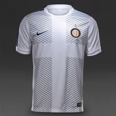 Nike Inter Kids Squad SS Pm Top - White/Midnight Navy