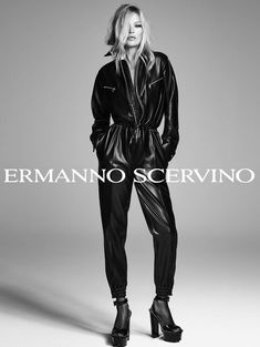 Supermodel Kate Moss fronts Ermanno Scervino Spring Summer 2020 campaign, lensed in sultry black and white images by Luigi & Iango./ Makeup by Georgi Sandev; hair by Luigi Murenu Vogue Japan, Vogue Russia, Kate Moss, Elle Us, Campaign Fashion, Ermanno Scervino, Christy Turlington, Black N White Images, Sleek Look