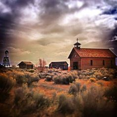 Fort Rock, Oregon. We're located nearby in Christmas Valley.