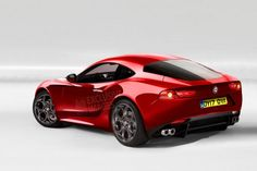 Alfa 6C rendering, stunning rear