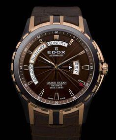 Edox Grand Ocean Day/Date Automatic