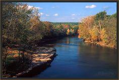 Eagle Bluff, Illinois River, Oklahoma.