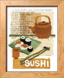 Sushi Poster di Nancy Overton su AllPosters.it